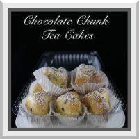 Chocolate Chunk Tea Cake