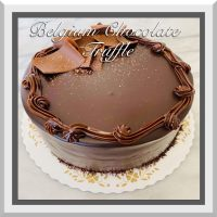 "7"" Belgian Chocolate Truffle Cake"