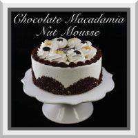 "7"" Chocolate Macadamia Nut Mousse Cake"