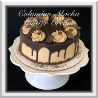 "7"" Columbian Mocha Butter Cream Cake"