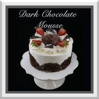 "7"" Dark Chocolate Mousse Cake"