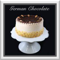 "7"" German Chocolate Cake"