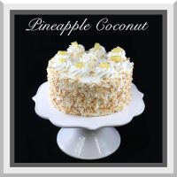 "7"" Coconut Pineapple Cake"
