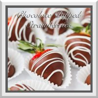 10% OFF - 6 PC Choc. Dipped Strawberries