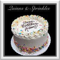 Birthday Cake Design - Quinns & Sprinkles