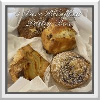 10% OFF - 4 PC Breakfast Pastry Box